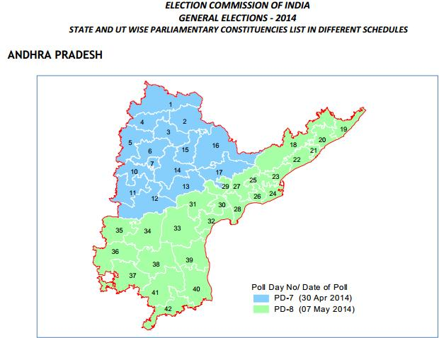 total constituencies in A.P Election Schedule of Andhrapradesh and Telangana Election Schedule of Andhrapradesh and Telangana conttituencies list of telangana andhra